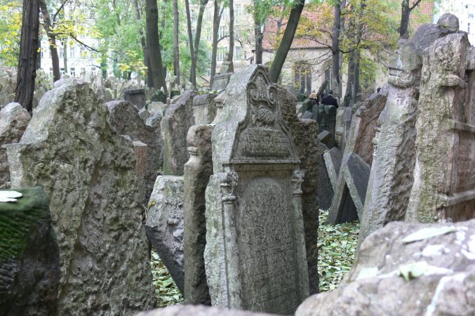 Wyjazd KNSB Praga 2009 - Cmentarz żydowski, Fot. © Anna Kot