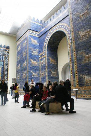 Wyjazd KNSB Berlin 2008 - Pergamonmuseum, Brama Isztar, Fot. © Anna Kuśmirek