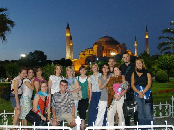 Wyjazd KNSB Turcja 2008 - Stambuł, Hagia Sophia, Fot. © Anna Kuśmirek