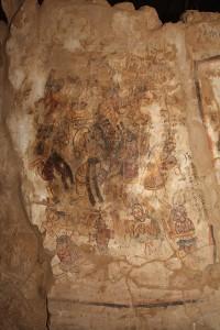 Scena tańca odnaleziona w klasztorze Antoniego Wielkiego w Starej Dongoli