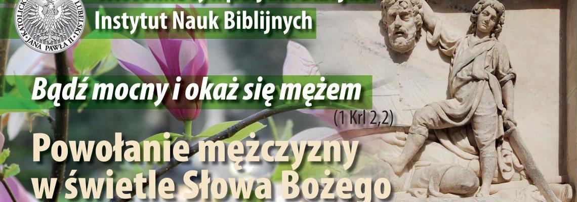 Zaproszenie na Wiosenne Sympozjum Biblijne, KUL