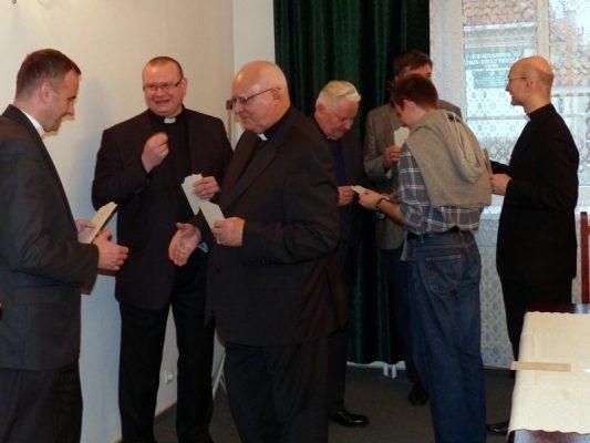 Opłatek biblistów UKSW 2014