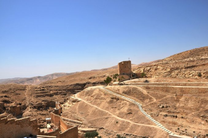 Wyjazd KNDB Izrael 2014 - klasztor Mar Saba, Fot. © Dominika Tomaszewska