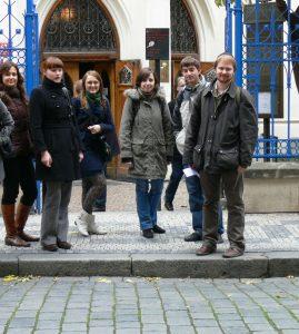 Wyjazd KNSB Praga 2009 - Synagoga Maisela, Fot. © Anna Kot