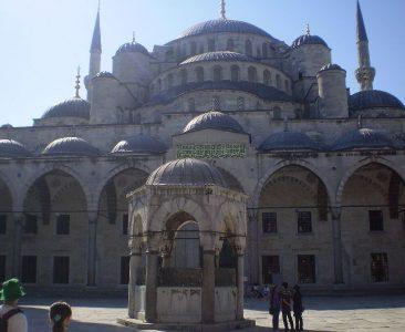 Wyjazd KNSB Turcja 2008 - Stambuł, Błękitny Meczet Fot. © Anna Kuśmirek