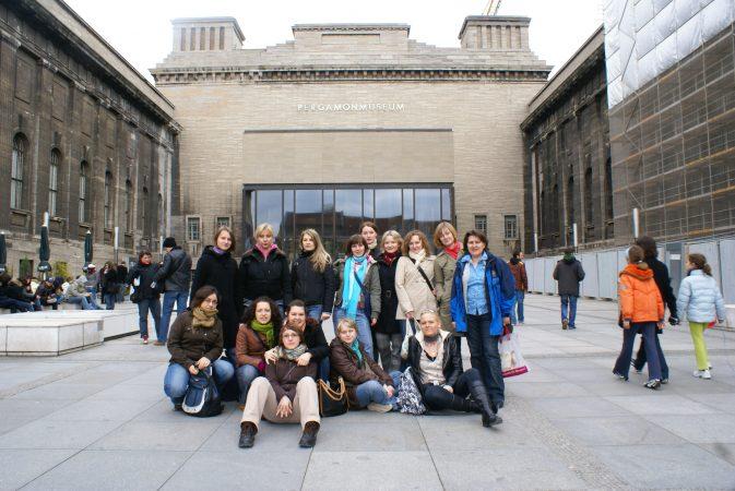 Wyjazd KNSB Berlin 2008 - Pergamonmuseum, Fot. © ks. Rafał Goliński