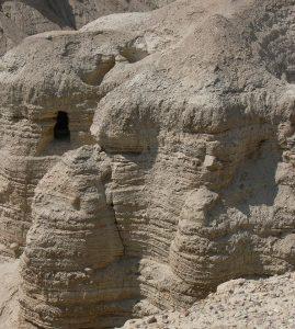Wyjazd KNSB Izrael 2007 - Qumran, Grota 4, Fot. © Anna Kuśmirek
