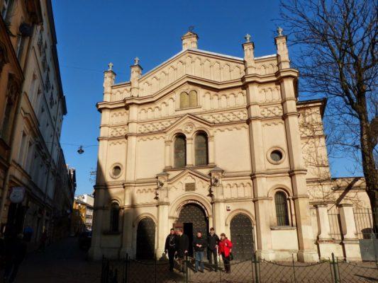 Wyjazd KNDB Kraków 2015 - Synagoga Tempel, Fot. © Anna Jagusiak