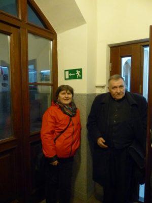 Wyjazd KNDB Kraków 2015 - prof. A. Kuśmirek i ks. prof. T. Jelonek, Fot. © Anna Jagusiak